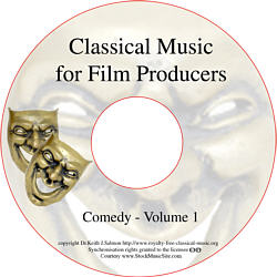 Classical Music For Film Producers - Comedy - Volume 1