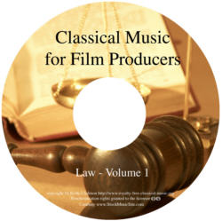 Classical Music For Film Producers - Law - Volume 1