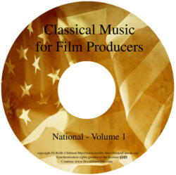 Classical Music For Film Producers - National (England) - Volume 1