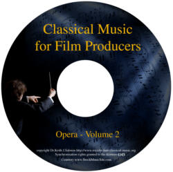 Classical Music For Film Producers - Opera - Volume 2