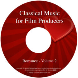 Classical Music For Film Producers - Romance (Waltzes) - Volume 2