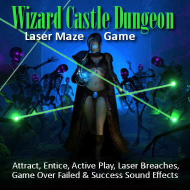 Wizard Castle Dungeon Laser Game Soundpack