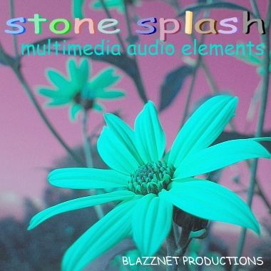 Stone Splash - Multimedia Audio Elements