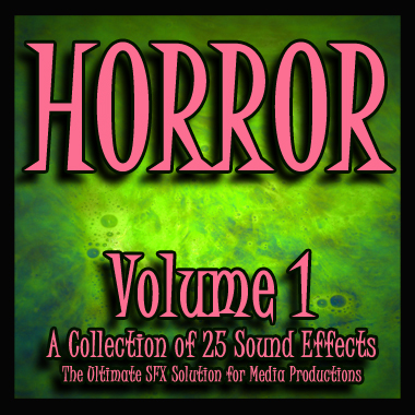 Horror - Volume 1 (Soundpack)