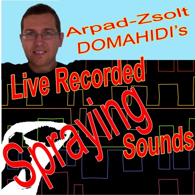 Live Recorded Spraying Sounds