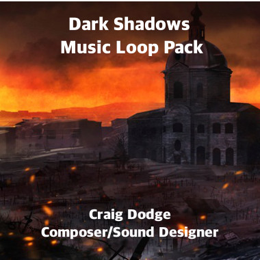 Dark Shadows Music Loop Pack